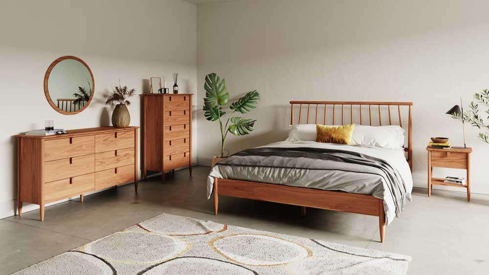 Our Kimi range is made from acacia wood